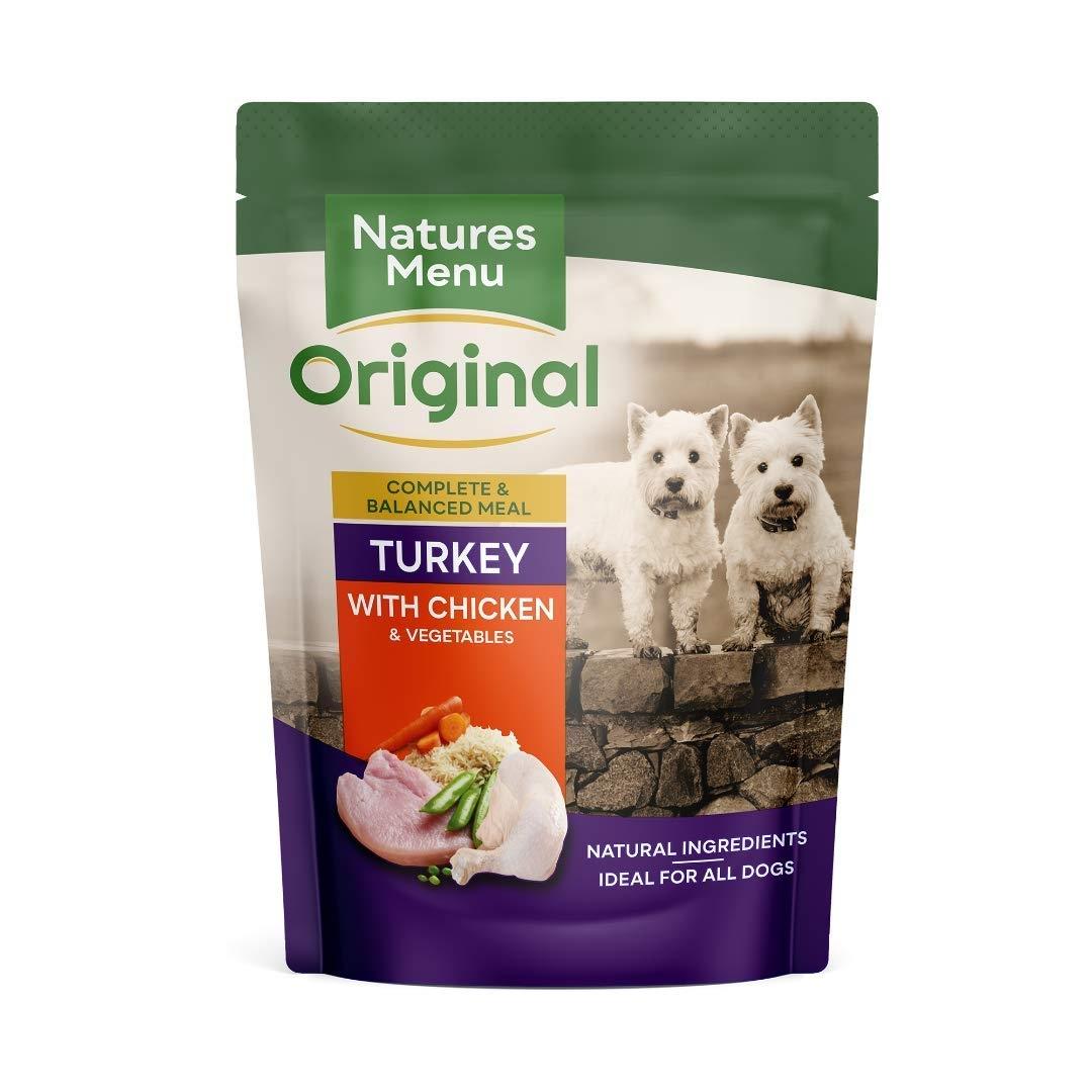 Natures Menu Dog Turkey & Chicken, 300 g imagine