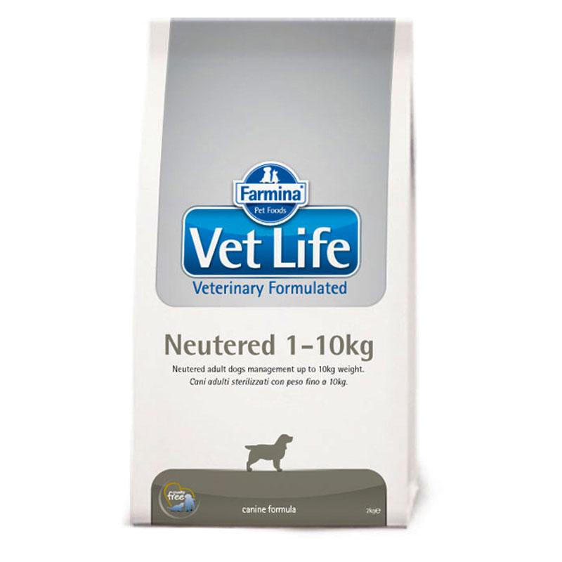 Vet Life Dog Neutered