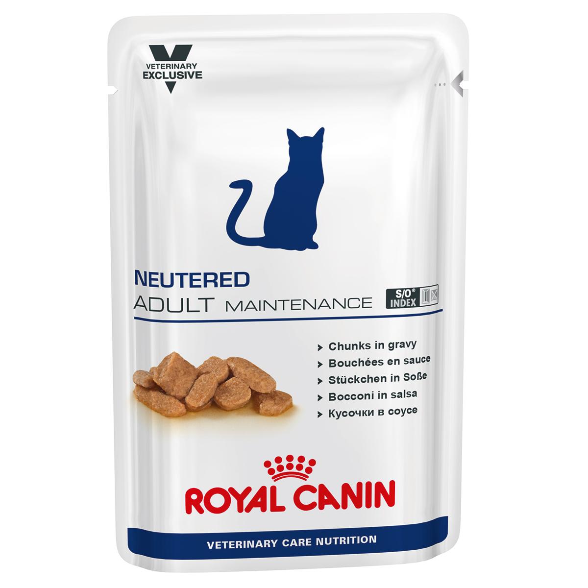 Royal Canin Neutered Adult Maintenance 12 Plicuri X 100 G