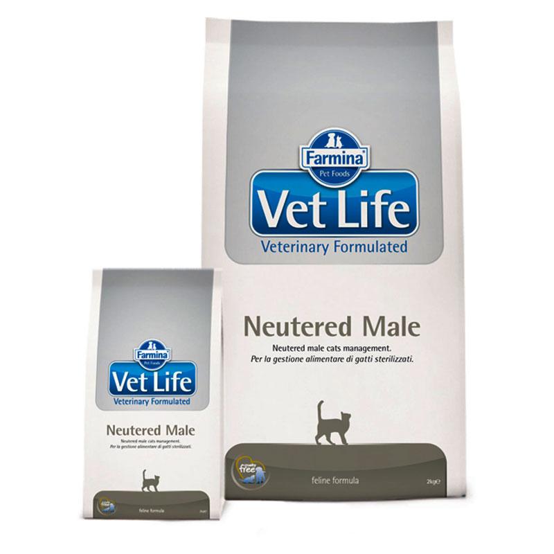 Vet Life Cat Neutered Male 10 kg imagine