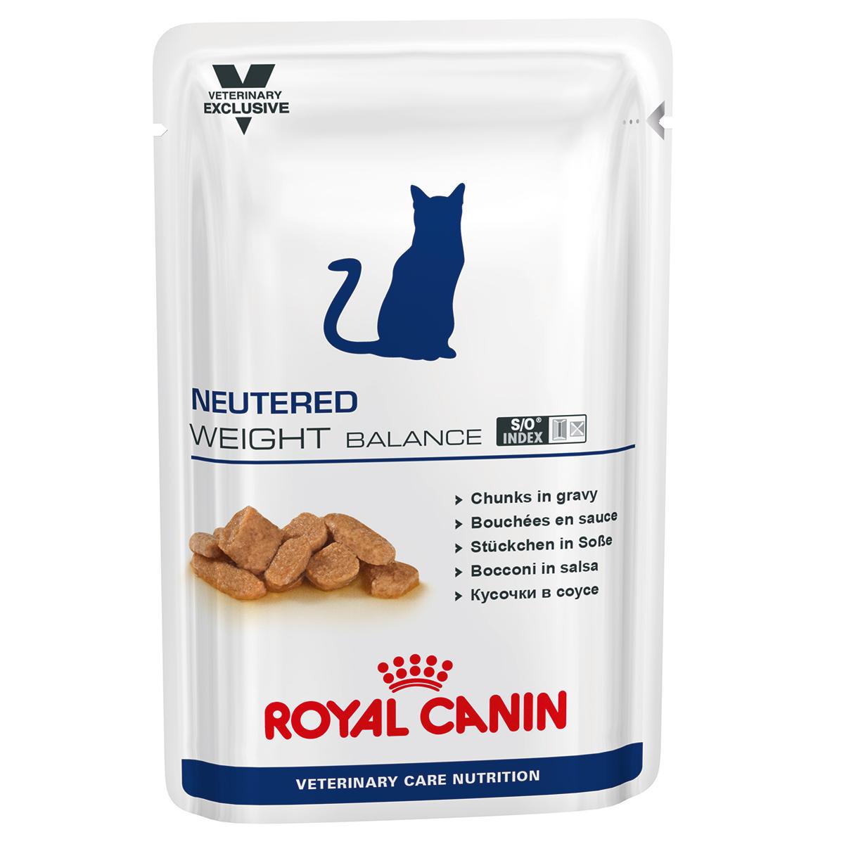 Royal Canin Neutered Weight Balance Cat, 1 plic x 85 g imagine
