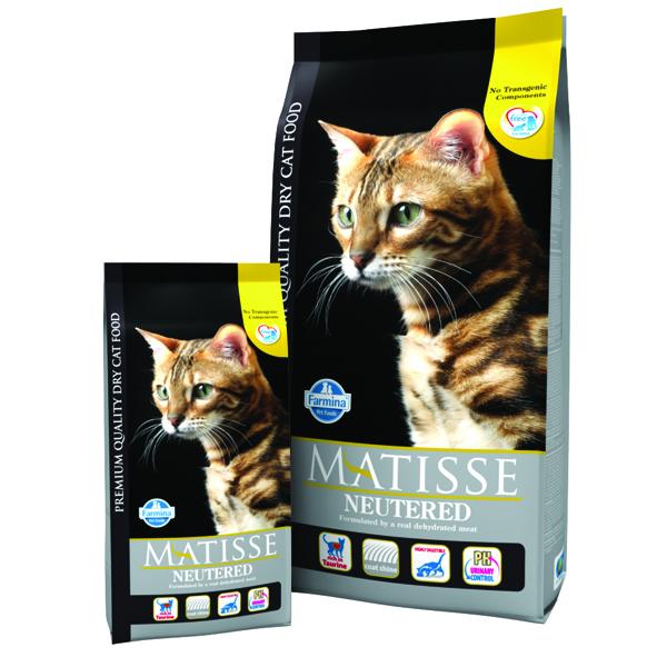 Matisse Cat Neutered 1.5 Kg imagine