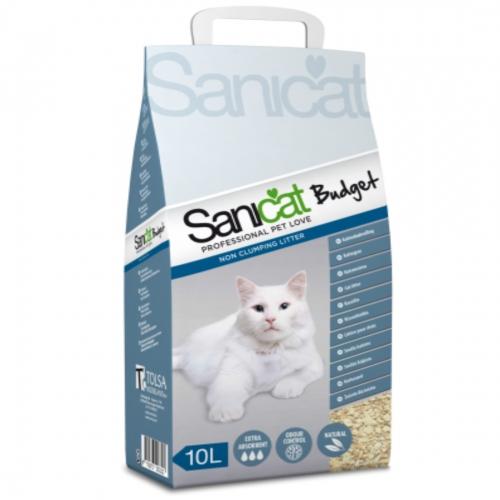 Nisip pentru litiera, Sanicat Budget, 10 l imagine