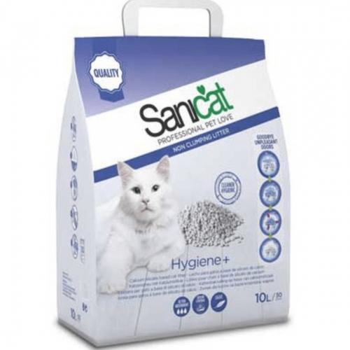 Nisip pentru litiera, Sanicat Hygiene+, 10 l imagine