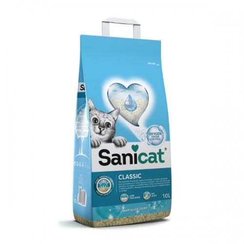 Nisip pentru litiera, Sanicat Classic Marseille, 10 L imagine