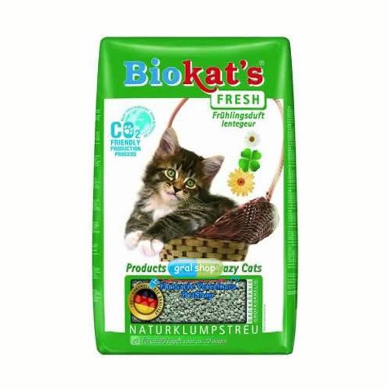 Nisip Biokat S Fresh 5 Kg imagine