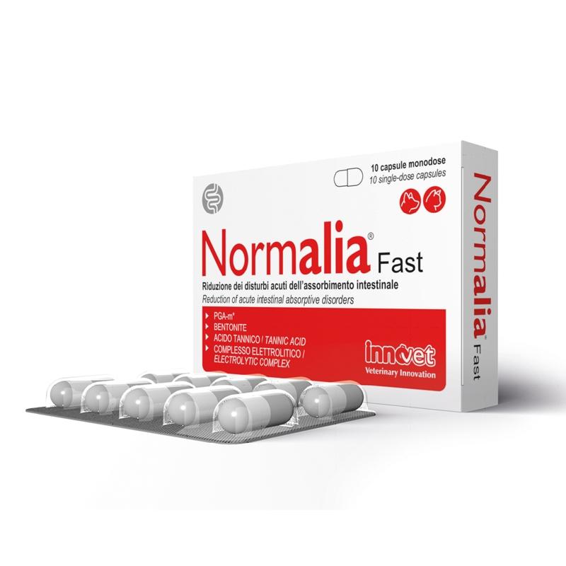 Normalia FAST, 10 capsule imagine