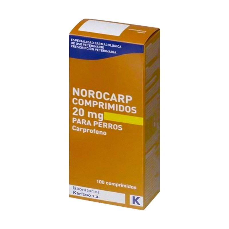Norocarp 20 mg 100 tablete imagine