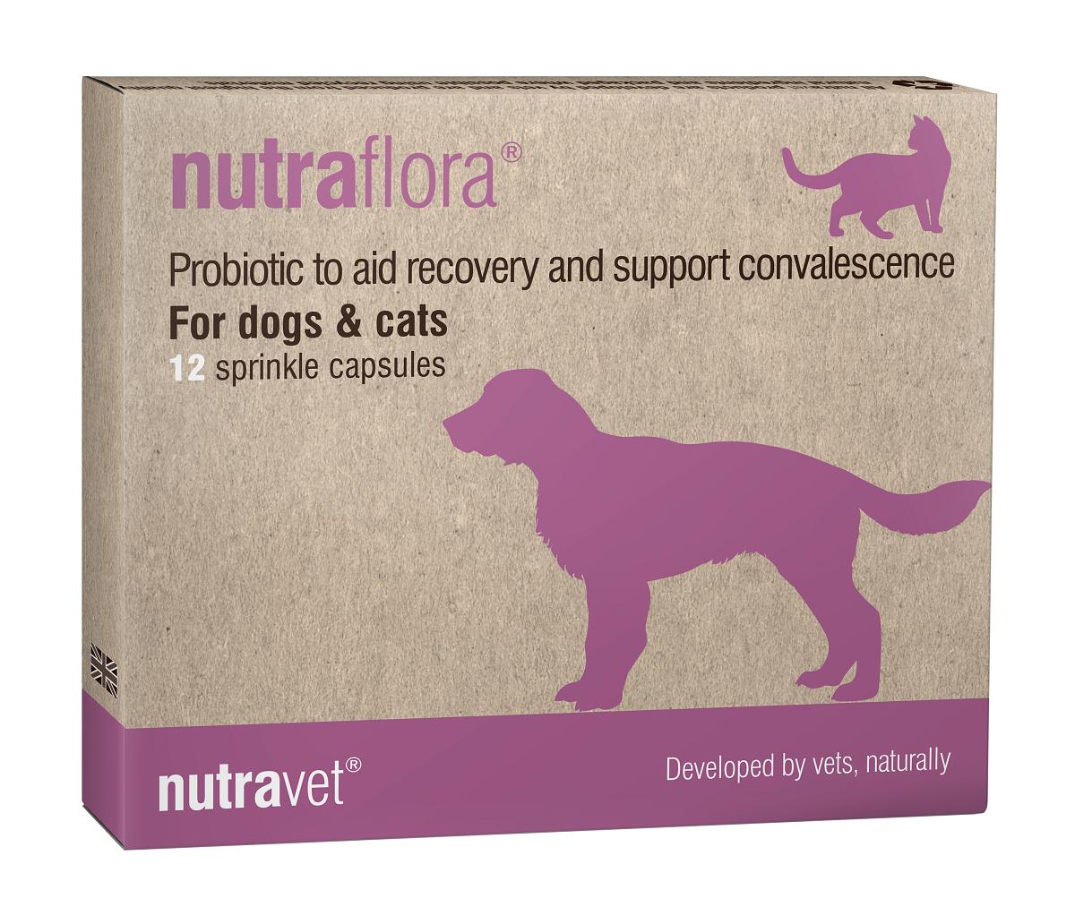 NUTRAVET NUTRAFLORA 12 comprimate imagine
