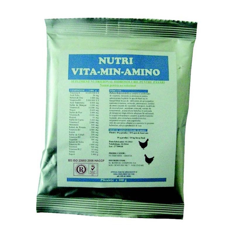 Nutri Vita-Min-Amino, 100 g imagine