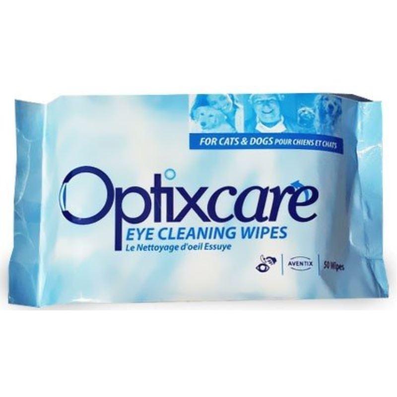 Optixcare EYE CLEANING WIPES, 50 servetele umede imagine
