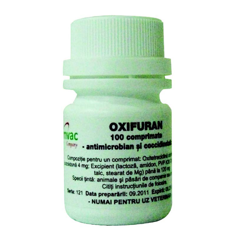 Oxifuran 100 Comprimate