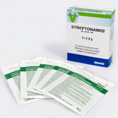 Streptonamid, 2.8 G, 5 Plicuri