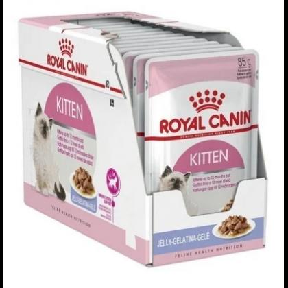 Royal Canin Kitten in Jelly, 12 x 85 g imagine