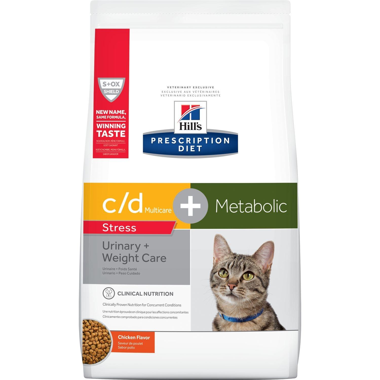 Hill's PD Feline C/D Stress plus Metabolic, 4 kg imagine