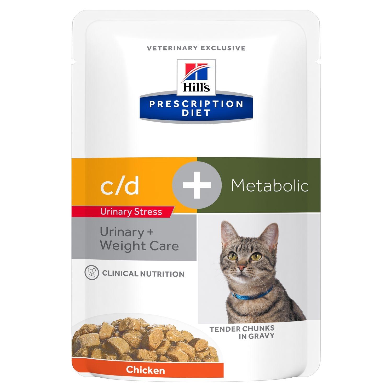 Hill's PD Feline C/D Stress plus Metabolic, 85 g imagine