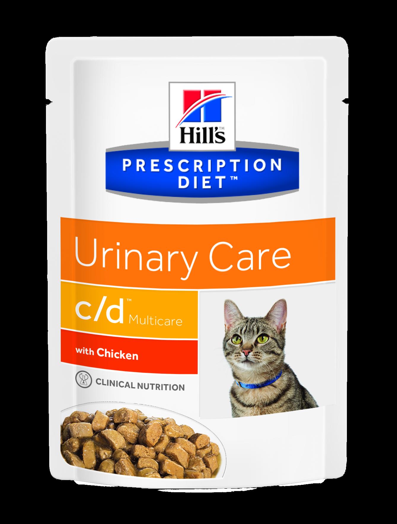 Hill's PD Feline C/D Chicken, 85 g imagine