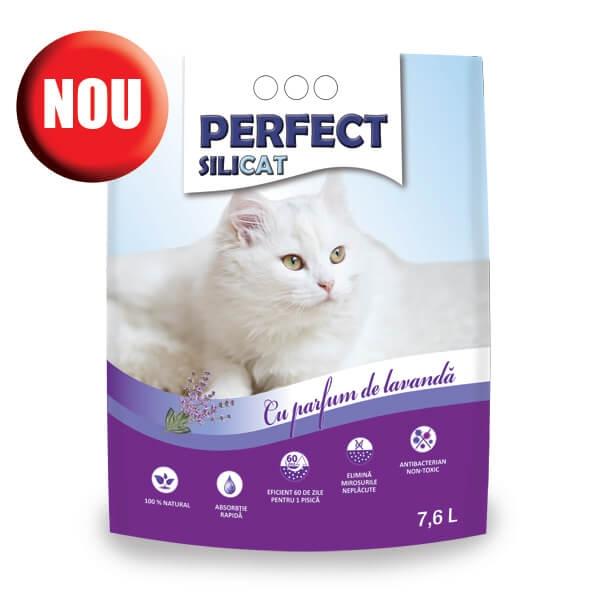 Nisip silicat, Perfect SiliCat, Lavanda, 7.6 L imagine