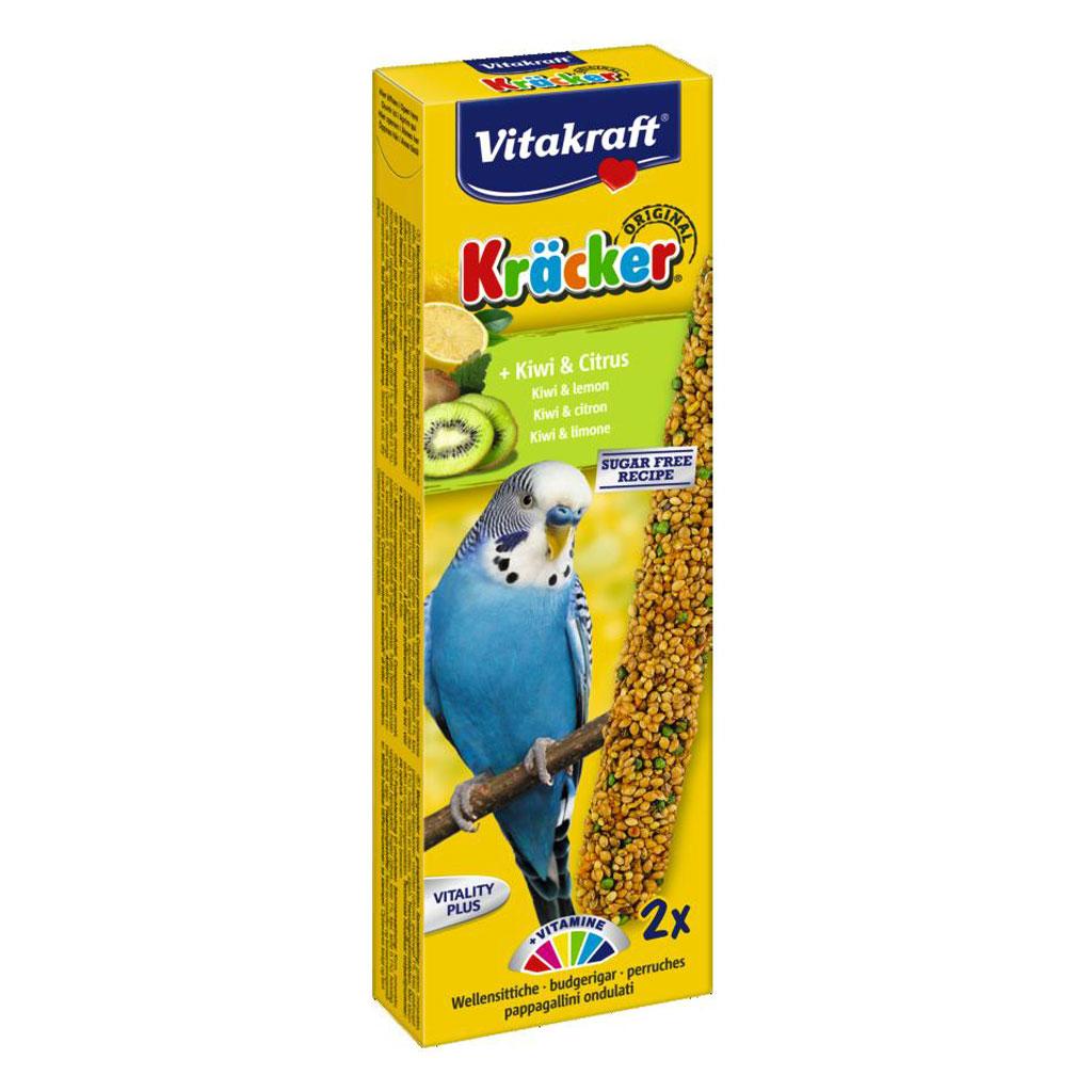 Baton pentru perusi, Vitakraft Kracker Kiwi & Lemon, 60 g imagine