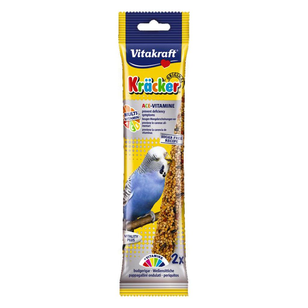 Batoane pentru perusi, Vitakraft Kracker Ace-Vitamine, 60 g imagine
