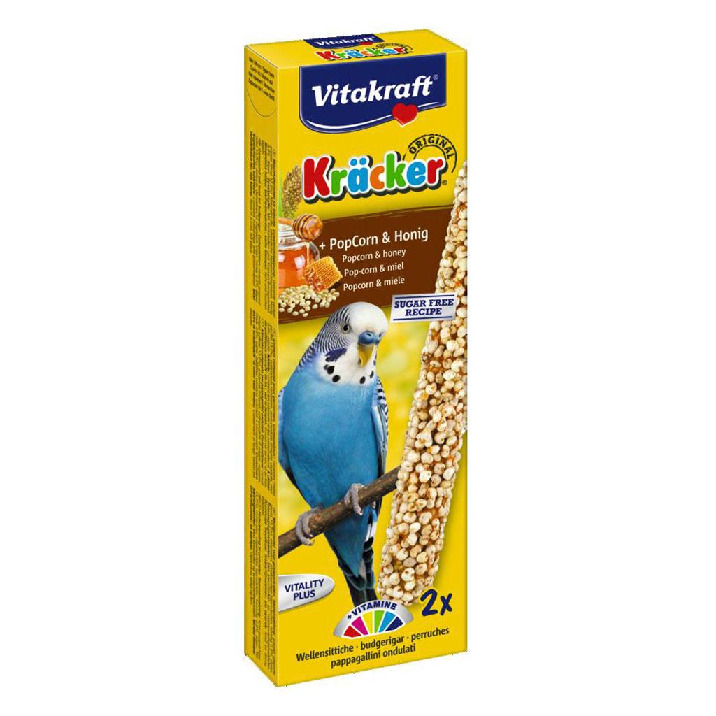 Baton Perusi Vitakraft Popcorn/Miere 2 Buc imagine