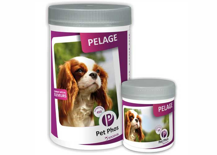 Pet Phos Canin Special Pelage 450 tablete imagine