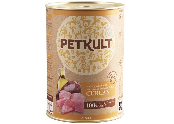 Petkult Adult Curcan, 400 g imagine
