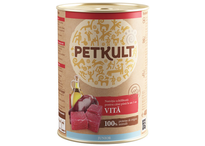 Petkult Junior cu Pui 800g imagine