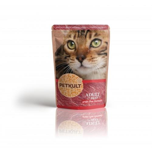 Hrana umeda pisici, Petkult, Vita, 100 g imagine