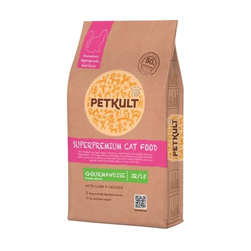 Hrana uscata pisici, Petkult Gourmandise, 7 kg imagine