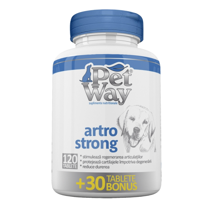 PetWay Artro Strong, 120 tablete imagine