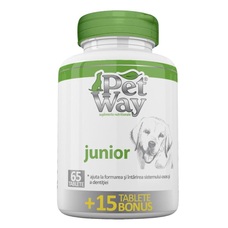 PetWay Junior, 65 tablete imagine