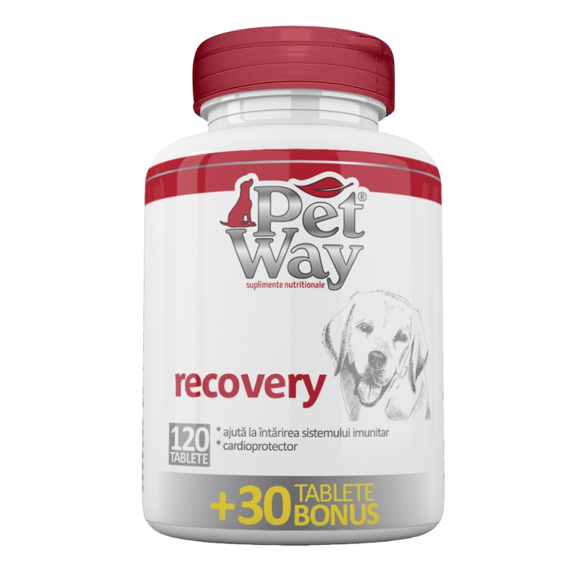 PetWay Recovery, 120 tablete imagine