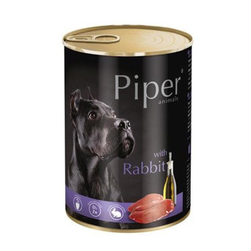 Piper Adult, carne de iepure, 400 g imagine