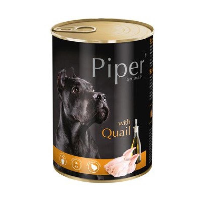 Piper Adult, Carne De Prepelita, 400 G imagine