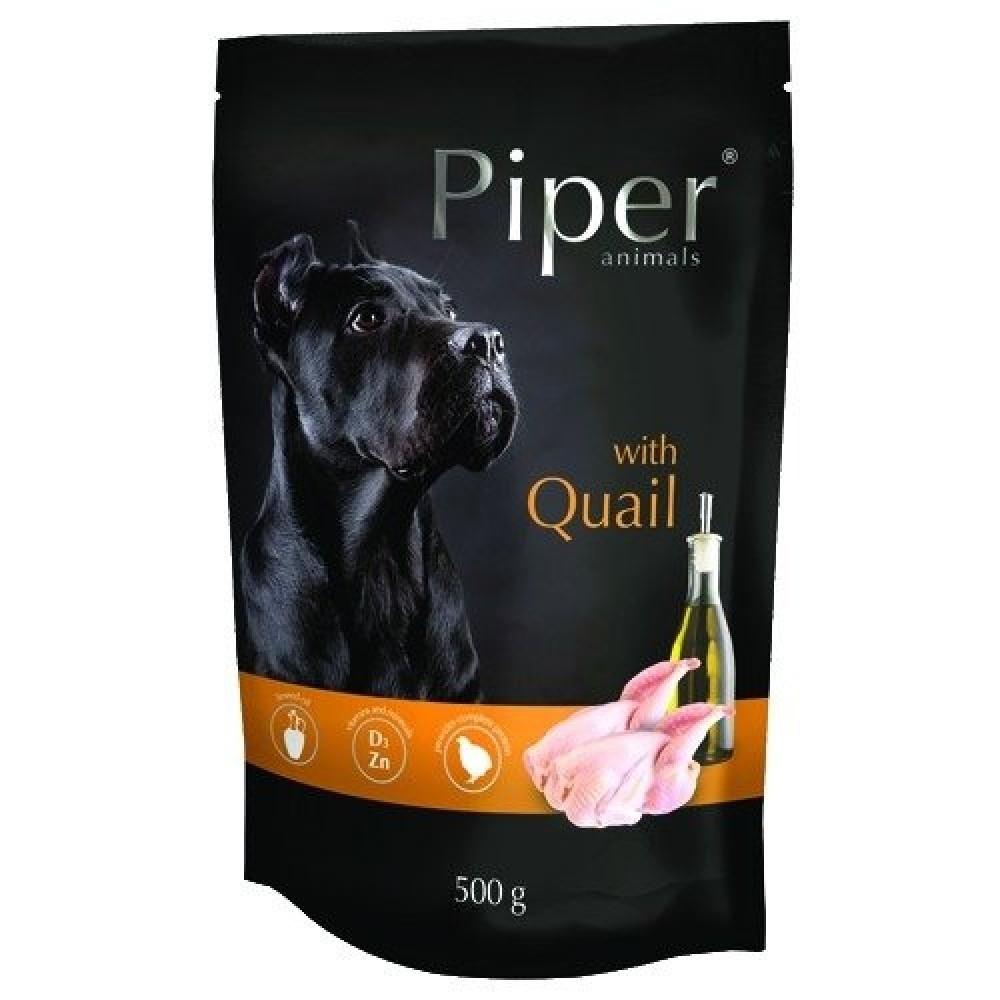 Piper Adult, carne de prepelita, 500 g imagine