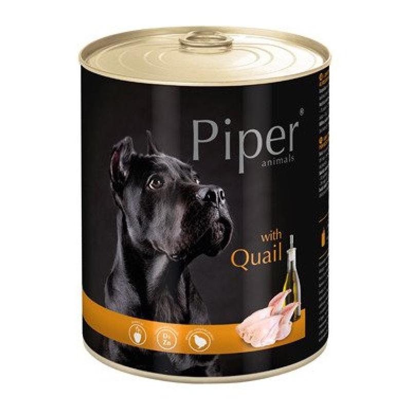 Piper Adult, carne de prepelita, 800 g imagine