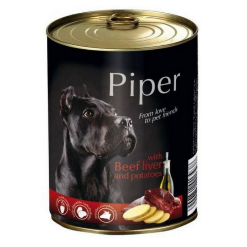 Piper Adult, ficat de vita si cartofi, 800 g imagine