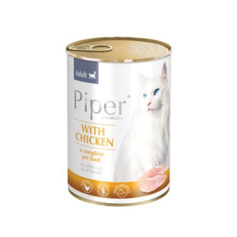 PIPER CAT, pui, 400 g imagine