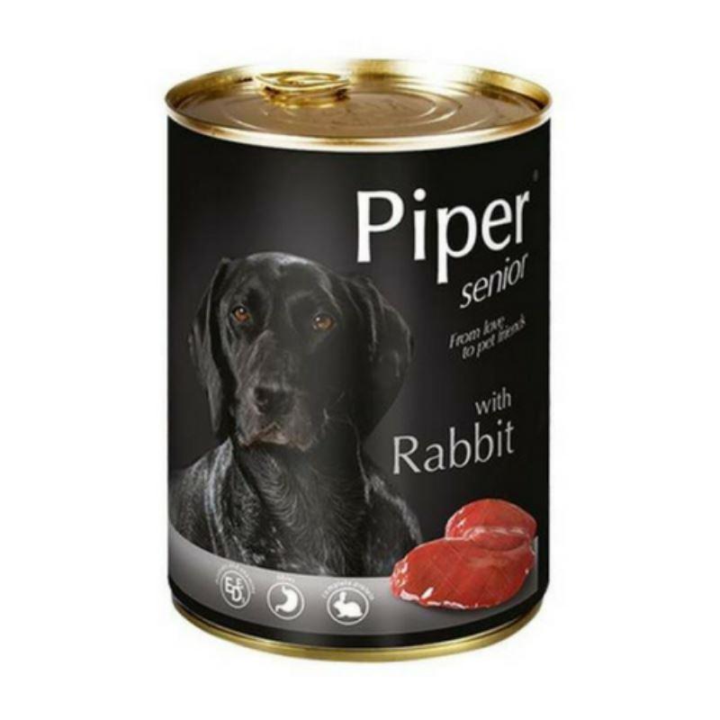 Piper Senior, carne de iepure, 400 g imagine