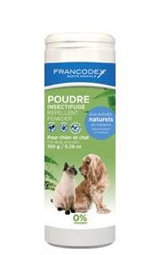 Francodex Pudra Antiparazitara Caine&pisica 150 Gr