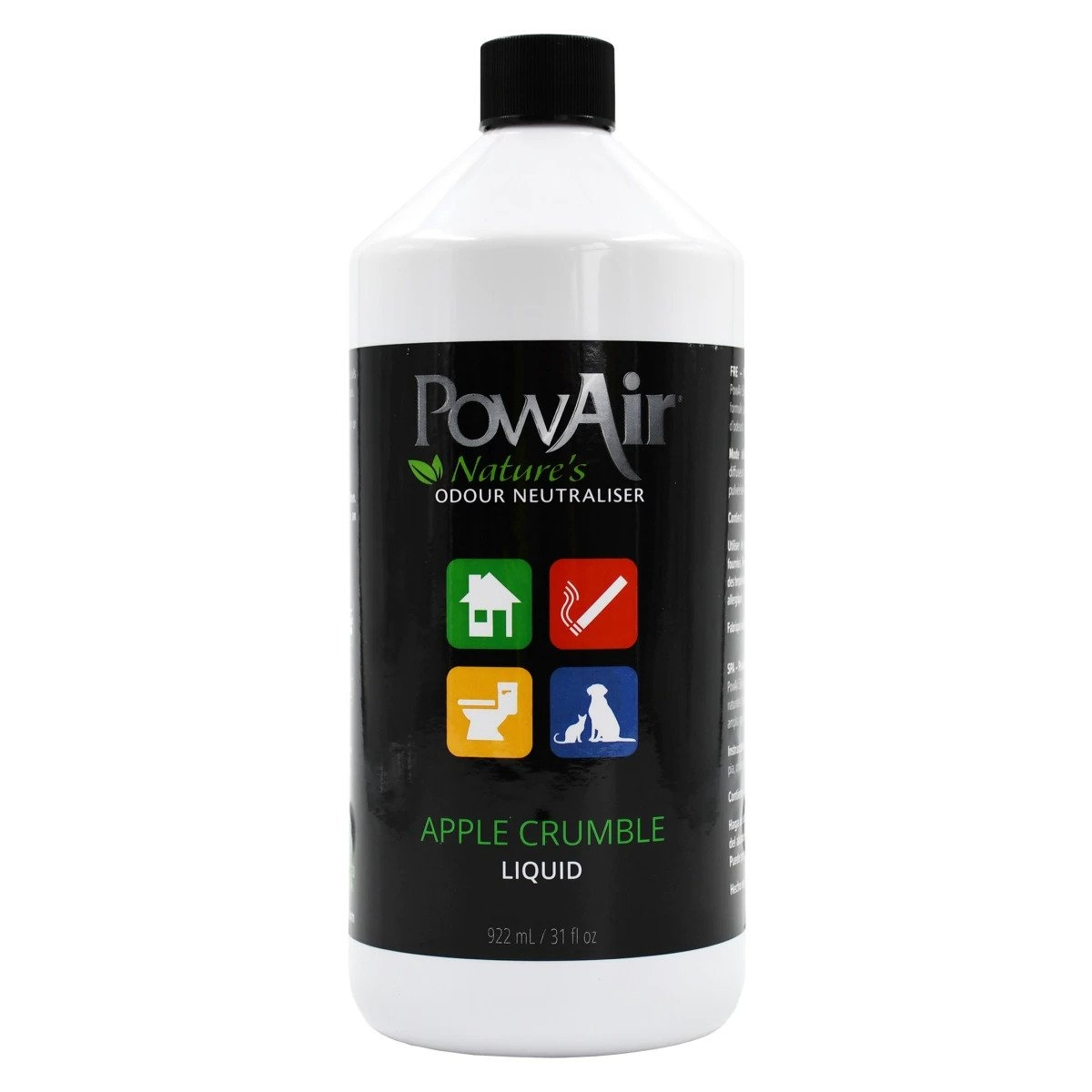 PowAir Liquid, Apple Crumble, 922ml imagine