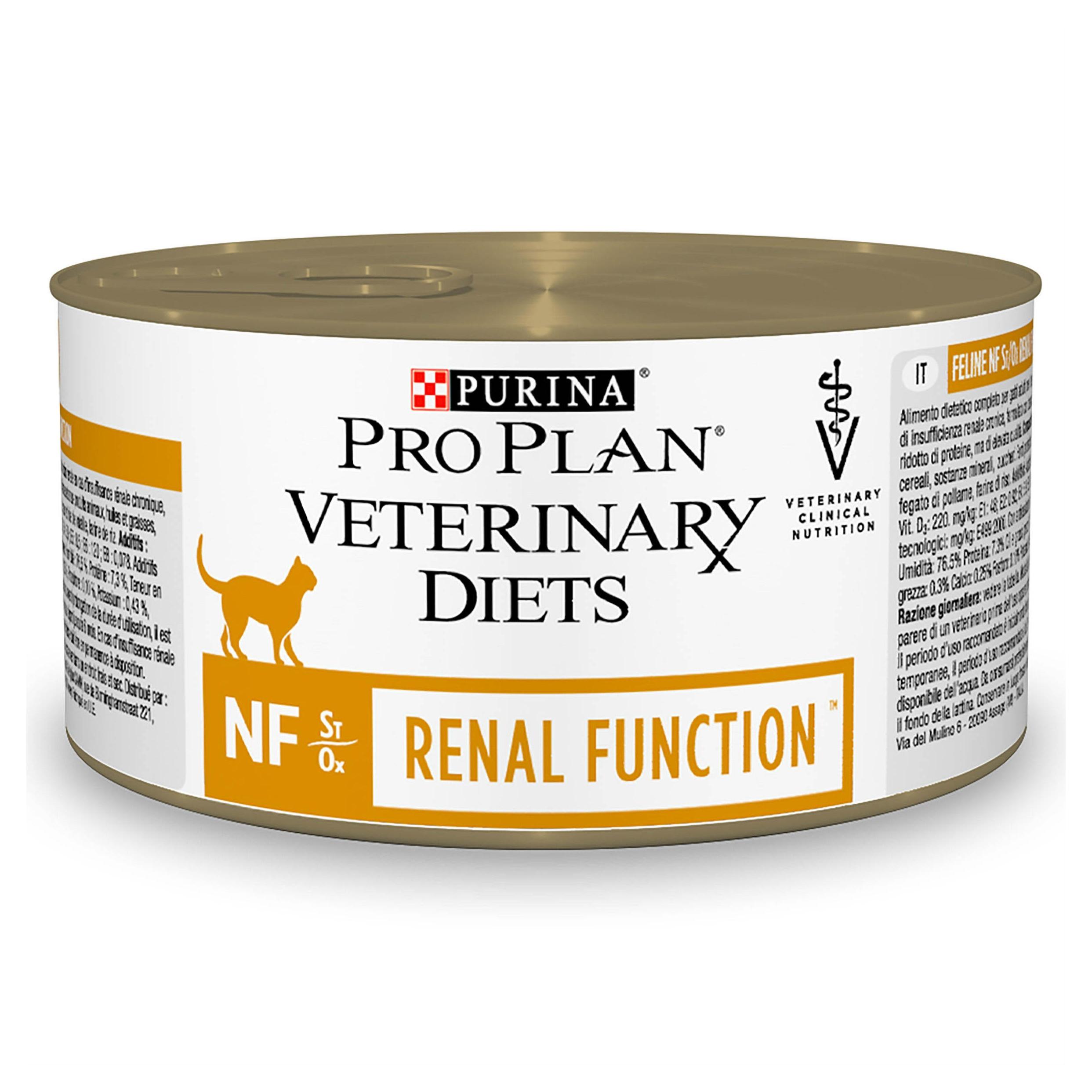 Purina Veterinary Diets Feline NF, Renal Function, 195 g imagine