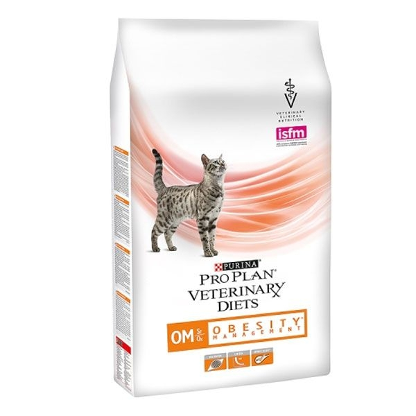 Purina Veterinary Diets Feline OM, Obesity Management, 5 kg imagine