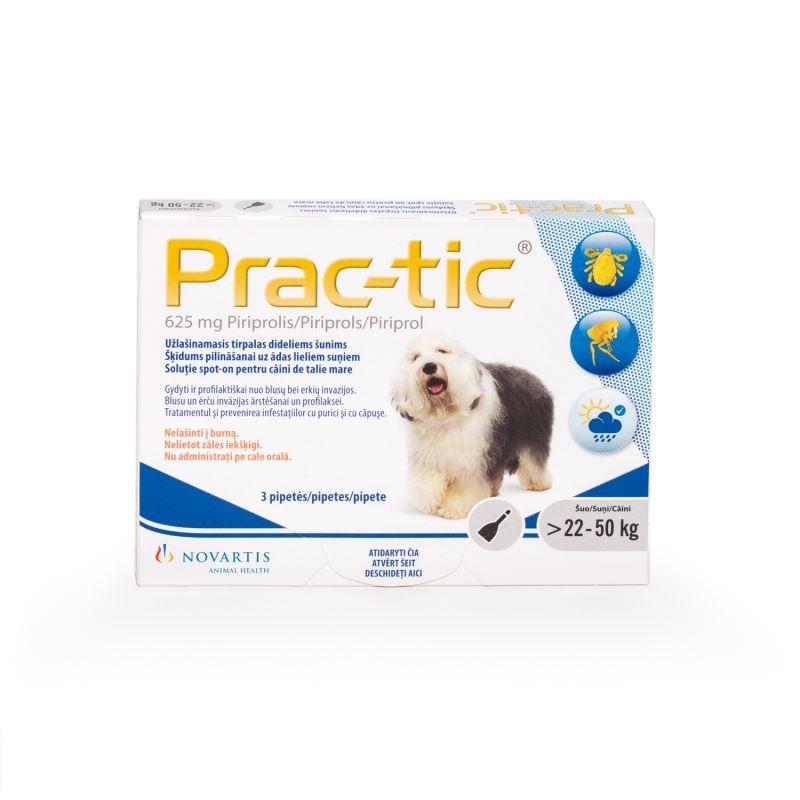 Prac-tic L 625 mg (22-50 kg), 3 pipete imagine