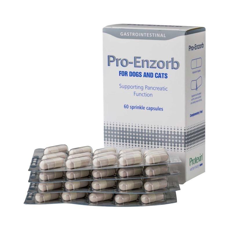 Protexin Pro-Enzorb, 60 capsule imagine