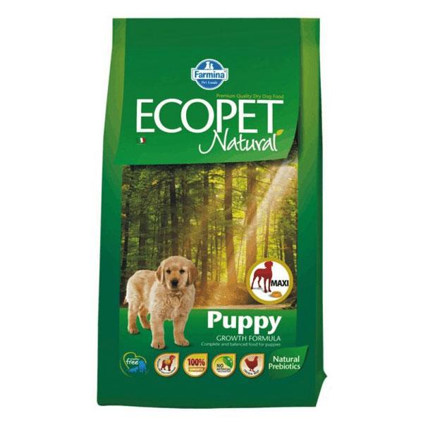 Ecopet Natural Puppy Maxi 12 Kg imagine