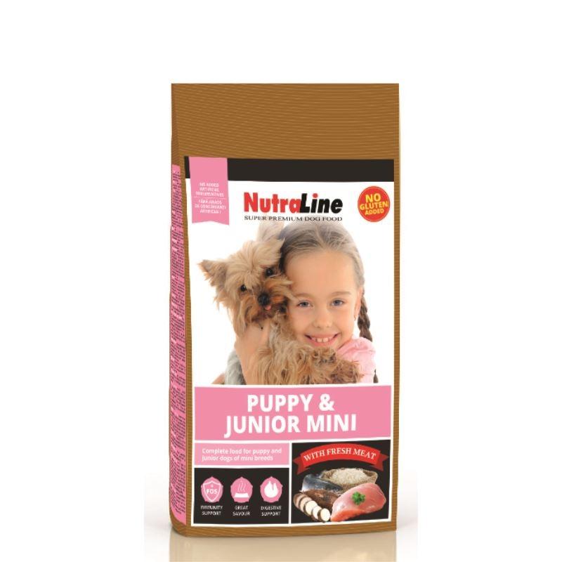NUTRALINE CAINE PUPPY&JUNIOR MINI 8 KG imagine