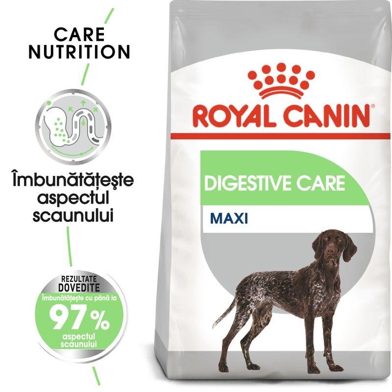 Royal Canin Maxi Digestive Care, 3 kg imagine