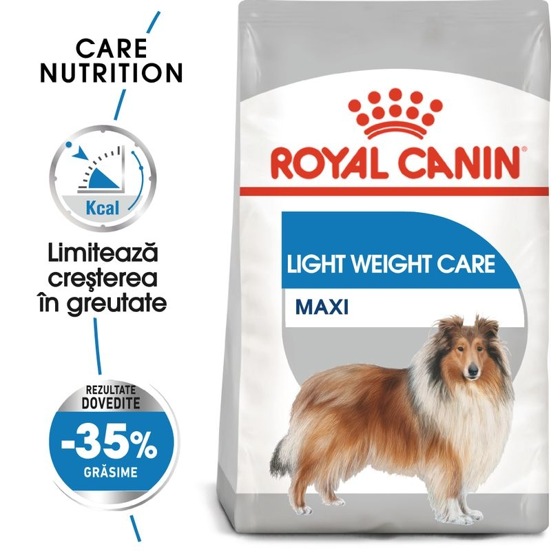 Royal Canin Maxi Light Weight Care imagine